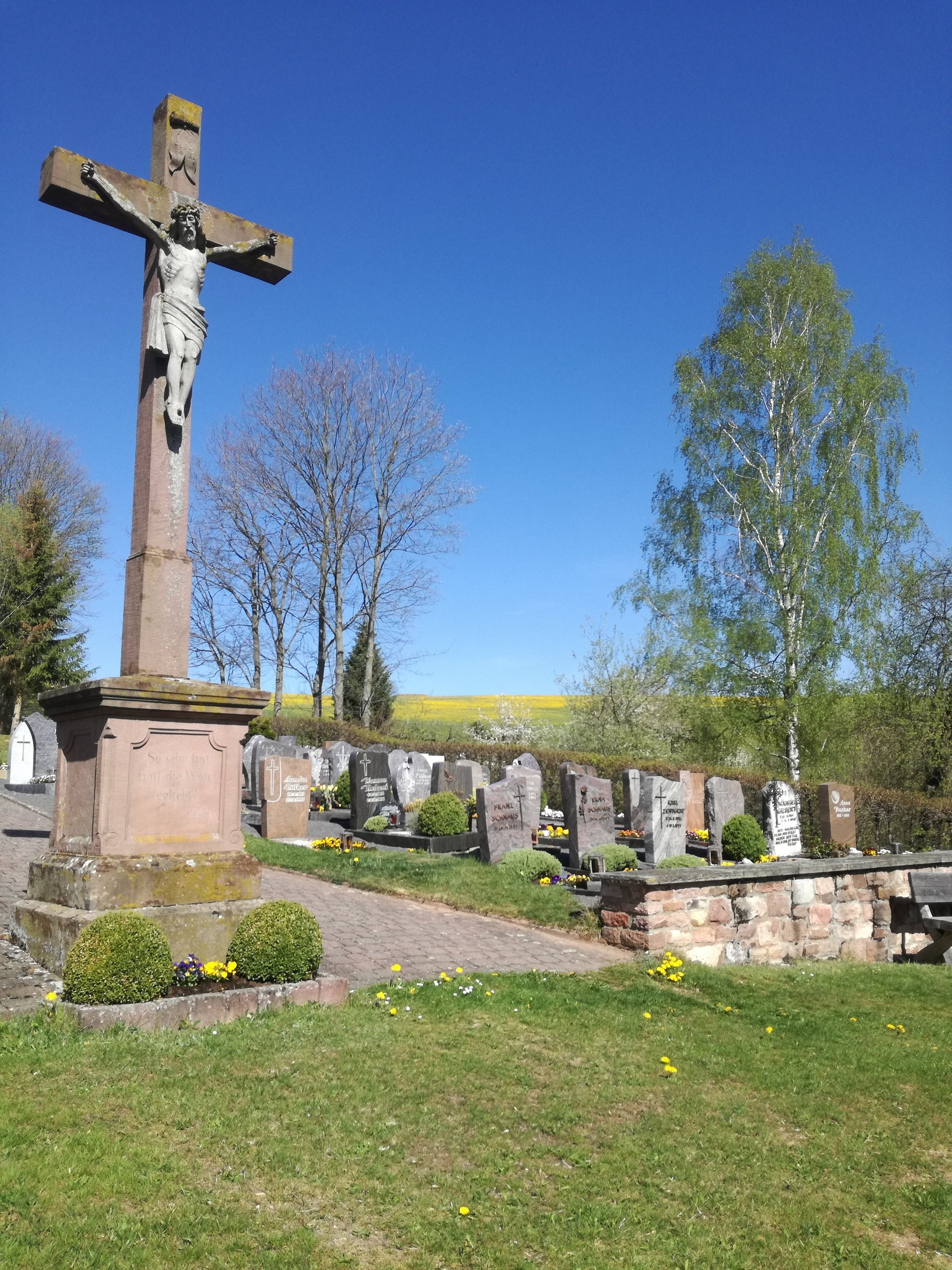 Friedhof in Thaiden